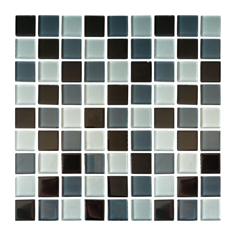 Azulejo Cristalo vítreo Mezcla de grises
