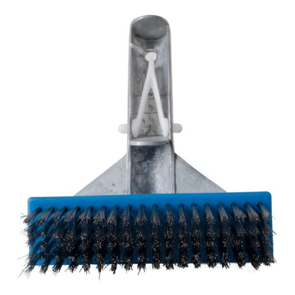 Cepillo de cerdas de acero inoxidable pequeño para albercas y jacuzzis