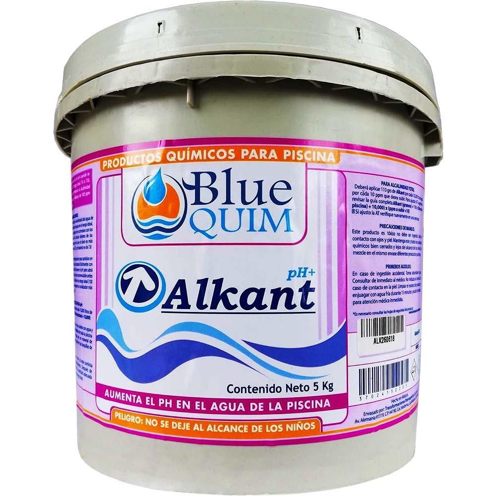 Subir el ph del agua alberca Alkant ph+
