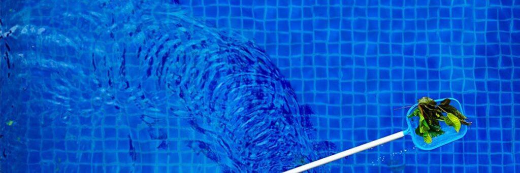 Mantenimiento para piscinas red saca hojas tipo pala