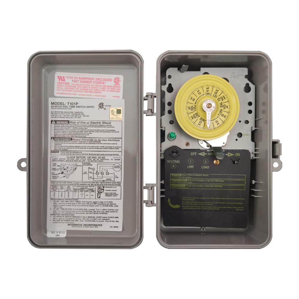 reloj timer electro mecánico intermatic
