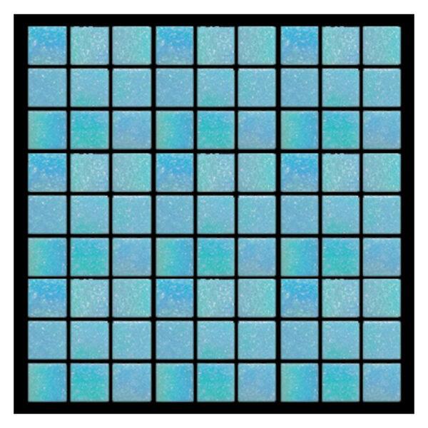 Azulejo para Piscina Vetro venezia Brillare Azul Acapulco A03 2x2cm