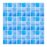 Azulejo para Piscina Vetro venezia Brillare Azul Cancún B011 2x2cm