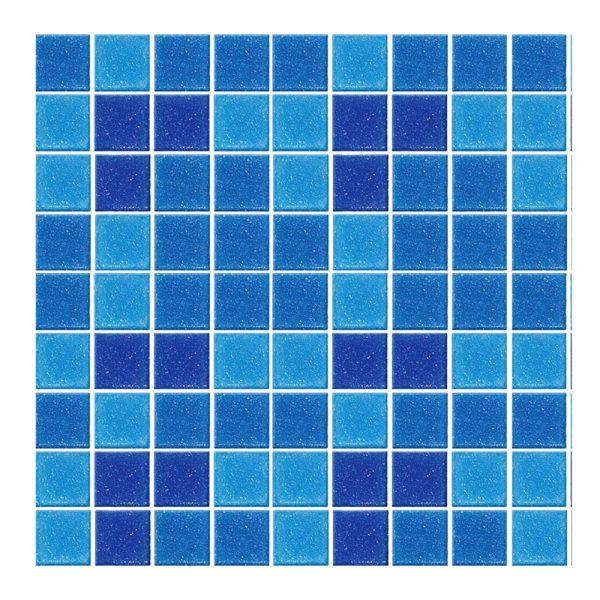 Azulejo Vetro Venezia Mezcla Miami 2x2 cm